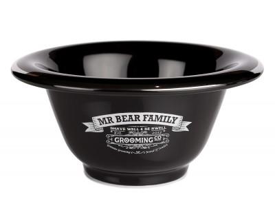 Mr Bear Family Shaving Bowl Porcelain