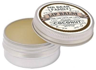 Mr Bear Family Lip Balm Coconut