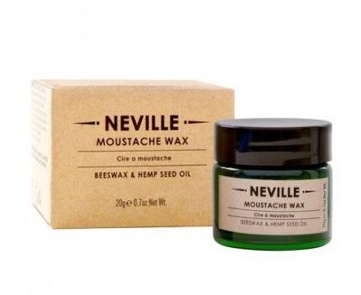 Neville Moustache Wax