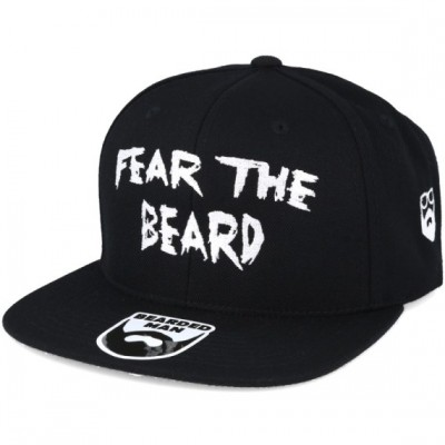 Bearded Man Apparel Fear The Beard Black Snapback