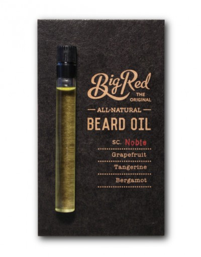 Big Red Beard Oil Sampler - Noble