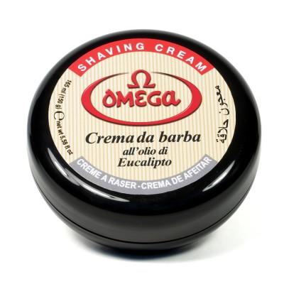 Omega Shaving Cream in Bowl