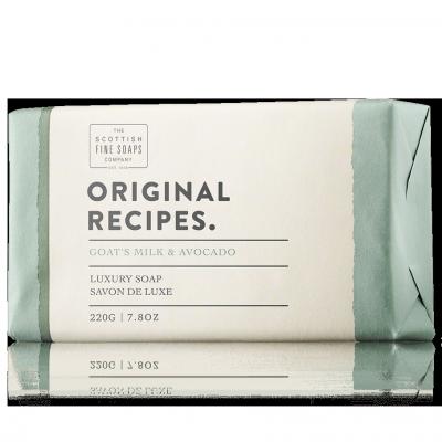 The Scottish Fine Soaps Original Recipes Goats Milk & Avocado Soap Bar