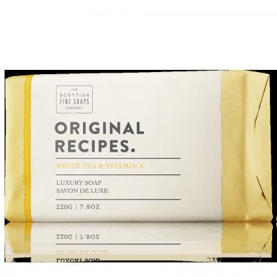 The Scottish Fine Soaps Original Recipes White Tea & Vitamin E Soap Bar