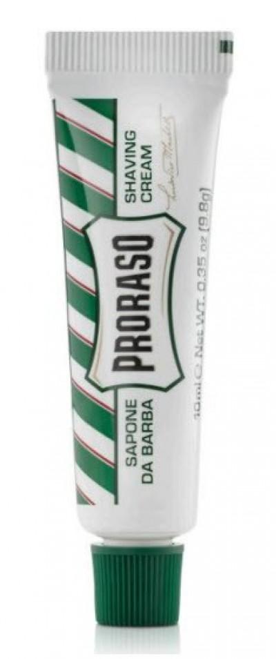Proraso Shaving Cream Refreshing and Toning Eucalyptus Travel Size