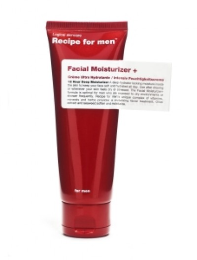 Recipe for men Facial Moisturizer +