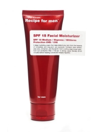 Recipe for men SPF 15 Facial Moisturizer