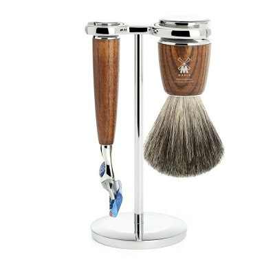 Mühle Rytmo Shaving Set Fusion + Shaving Brush Ash