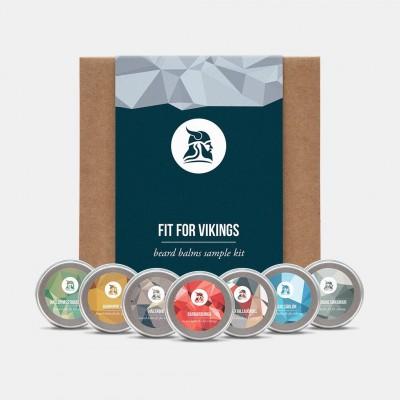 Fit for Vikings Beard Balm Sample Kit