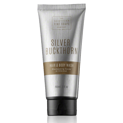 The Scottish Fine Soaps Silver Buckthorn Hair & Body Wash Tube