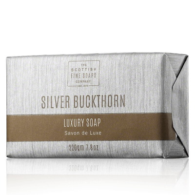 The Scottish Fine Soaps Buckthorn Luxury Soap Bar