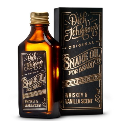 Dick Johnson Excuse My French Snake Beard Oil Whiskey & Vanilla 50ml