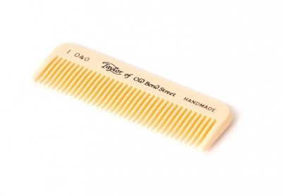 Taylor Of Old Bond Street Moustache Comb Ivory