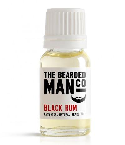 The Bearded Man Company Black Rum Beard Oil 10 ml