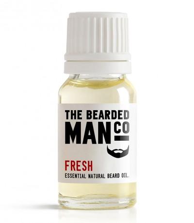 The Bearded Man Company Fresh Beard Oil 10 ml