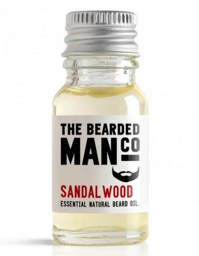 The Bearded Man Company Beard Oil Sandalwood 10 ml