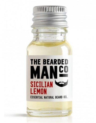 The Bearded Man Company Beard Oil Sicilian Lemon 10 ml