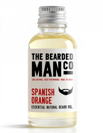 The Bearded Man Company Beard Oil Spanish Orange 30 ml