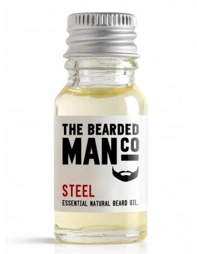 The Bearded Man Company Beard Oil Steel 10 ml