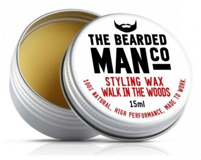 The Bearded Man Company Moustache Wax Walk in the Woods