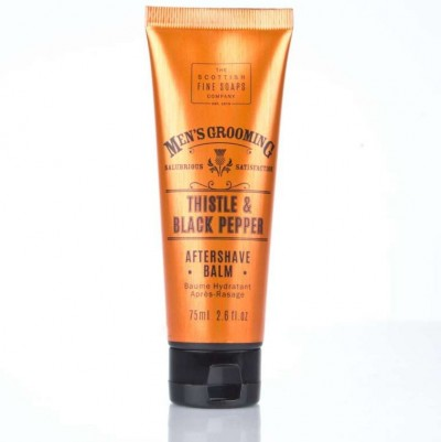 The Scottish Fine Soaps Thistle & Black Pepper Aftershave Balm