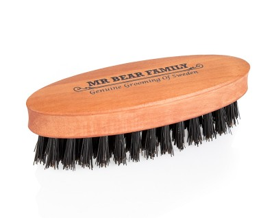 Mr Bear Family Beard Brush Travel Size