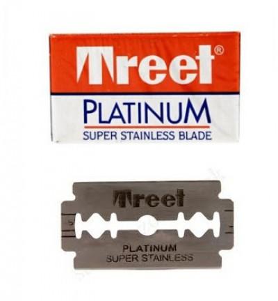 Treet Platinum Super Platinum Double Edge Razor Blades