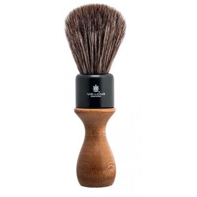 Vie-Long American Style Shaving Brush Brown Horse