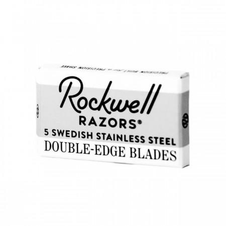 Rockwell Double Edge Razor Blades 5-p
