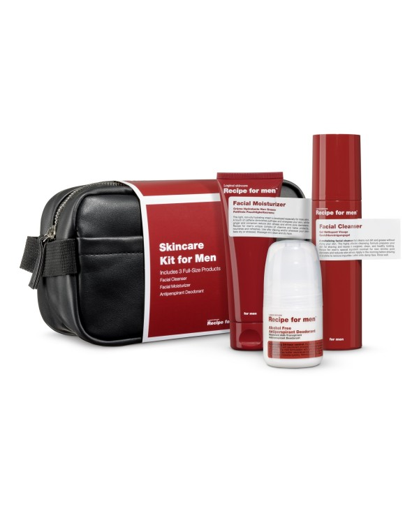 Recipe for men  Christmas Skincare Kit 2019
