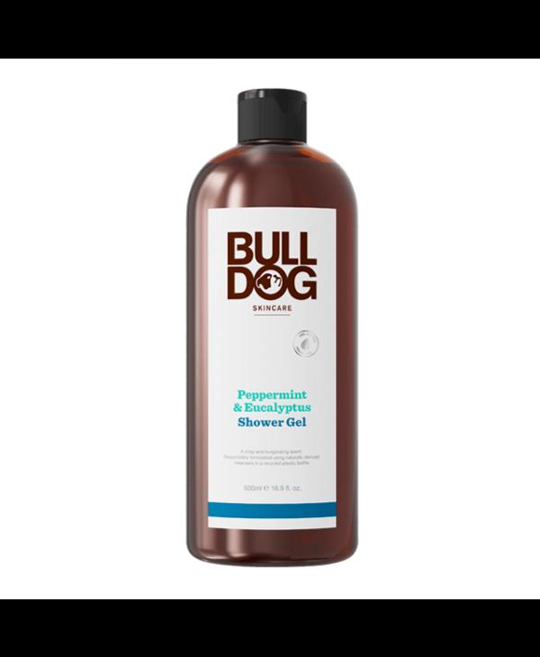 Bulldog Peppermint & Eucalyptus Shower Gel 500 ml
