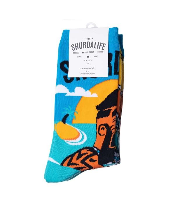 Shurdalife By Daki Savic Beachlife Socks