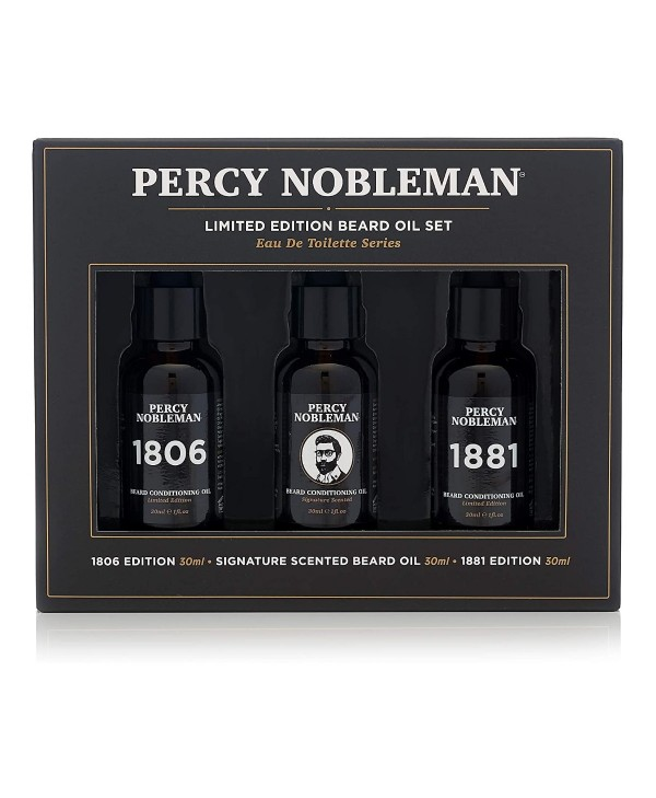 Percy Nobleman Beard Oil Set Limited Edition