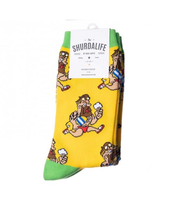Shurdalife By Daki Savic Surfer Socks