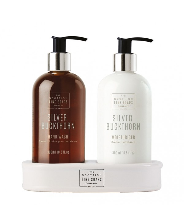 The Scottish Fine Soaps Silver Buckthorn Hand Care Set