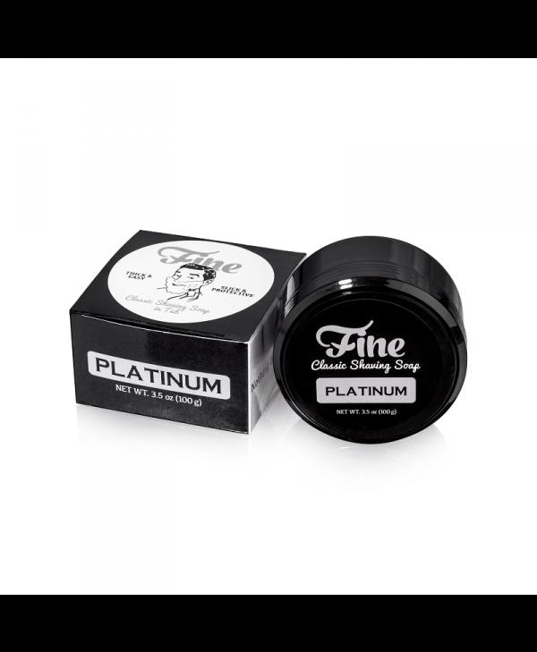 Mr Fine's Platinum Shaving Soap