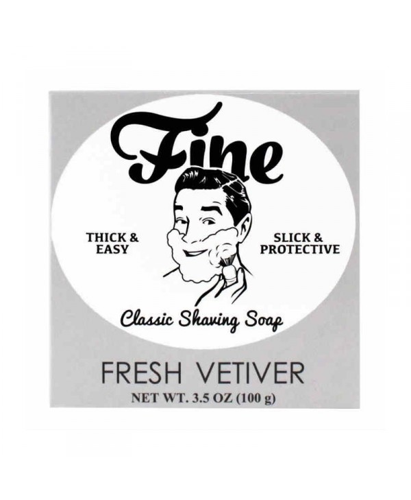 Mr Fine's Fresh Vetiver Shaving Soap