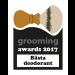 Grooming Awards 2017 - Bästa deodorant