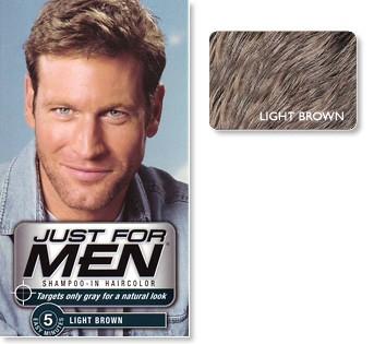hårfärg för män
