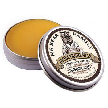 Mr Bear Family Moustache Wax Woodland