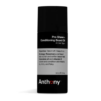 Anthony Pre Shave + Conditioning Beard Oil