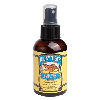 Lucky Tiger Head to Tail Deodorant & Body Spray