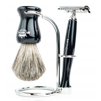 Mondial Panther Shaving Set Safety Razor