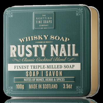 The Scottish Fine Soaps Whisky Soap Rusty Nail