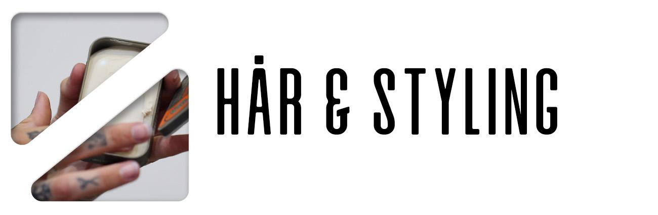 hår och styling