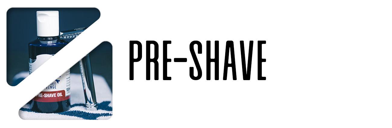 pre-shave rakolja