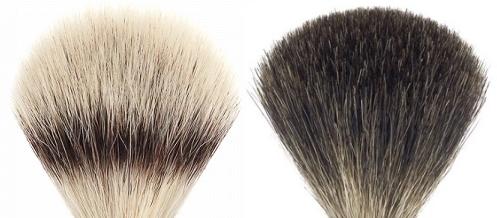 rakborstar silvertip fibre / black fibre